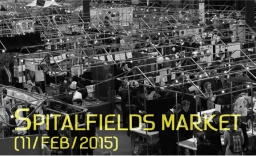 Spitalfields Market Trade fair